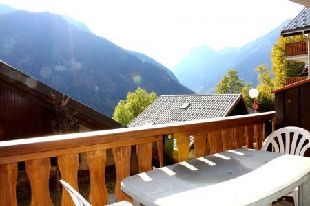 Rent in ski resort Studio sleeping corner 4 people (B003CL) - Les Hauts de Planchamp - Bruyères - Champagny-en-Vanoise - Balcony