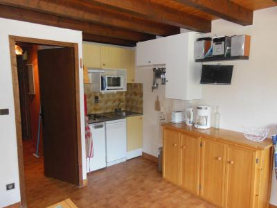 Rent in ski resort 3 room duplex apartment 6 people (D023CL) - Les Hauts de Planchamp - Campanule - Champagny-en-Vanoise - Kitchenette