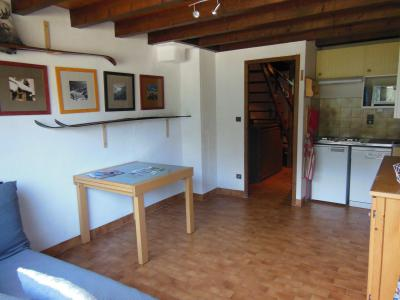 Rent in ski resort 3 room duplex apartment 6 people (D023CL) - Les Hauts de Planchamp - Campanule - Champagny-en-Vanoise - Living room