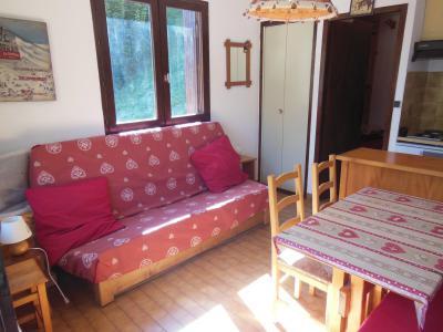 Rent in ski resort Studio sleeping corner 3 people (C006CL) - Les Hauts de Planchamp - Campanule - Champagny-en-Vanoise - Bed-settee