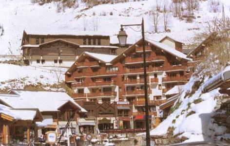 Location au ski Residence Du Centre - Champagny-en-Vanoise - Extérieur hiver