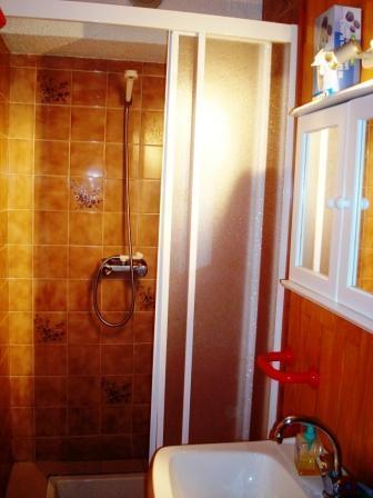 Location au ski Studio cabine 4 personnes (2) - Residence Du Centre - Champagny-en-Vanoise - Salle d'eau