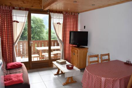 Rent in ski resort 2 room apartment 4 people (GENTIANE) - Résidence Flor'Alpes - Champagny-en-Vanoise - Living room