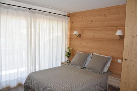Rent in ski resort 3 room apartment 6 people (BRUYERE) - Résidence Flor'Alpes - Champagny-en-Vanoise - Double bed