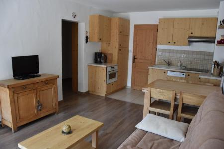 Rent in ski resort 3 room apartment 6 people (BRUYERE) - Résidence Flor'Alpes - Champagny-en-Vanoise - Living room