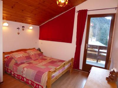 Rent in ski resort 3 room duplex apartment 4 people (CHARDON) - Résidence Flor'Alpes - Champagny-en-Vanoise - Double bed
