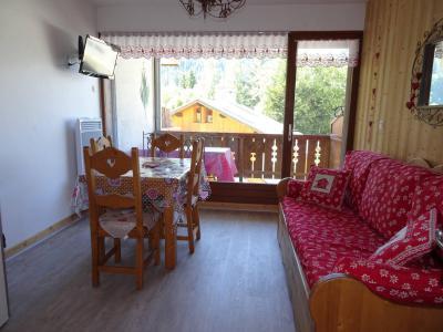 Rent in ski resort 3 room duplex apartment 4 people (CHARDON) - Résidence Flor'Alpes - Champagny-en-Vanoise - Living room
