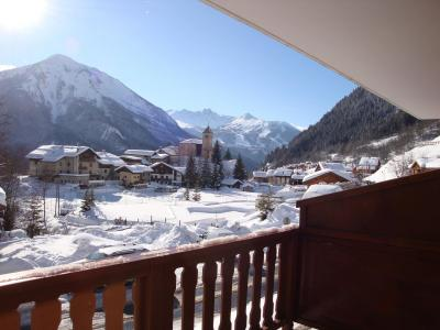 Rent in ski resort 3 room duplex apartment 4 people (CHARDON) - Résidence Flor'Alpes - Champagny-en-Vanoise - Winter outside
