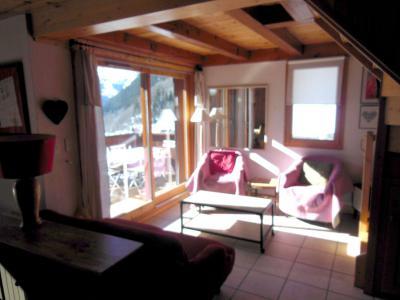 Location au ski Appartement duplex 4 pièces 6 personnes (009P) - Résidence la Tour du Merle - Champagny-en-Vanoise - Séjour