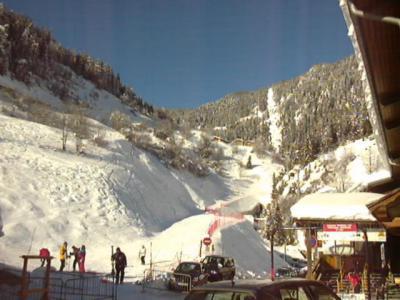 Location au ski Studio coin montagne 4 personnes (027) - Résidence le Centre - Champagny-en-Vanoise