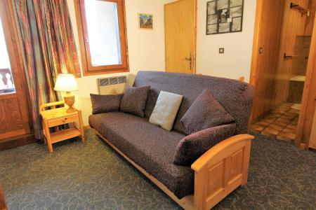 Location au ski Appartement 2 pièces cabine 6 personnes (034) - Résidence le Centre - Champagny-en-Vanoise - Canapé-lit