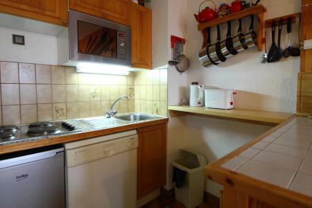 Location au ski Appartement 2 pièces cabine 6 personnes (034) - Résidence le Centre - Champagny-en-Vanoise - Kitchenette