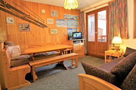 Location au ski Appartement 2 pièces cabine 6 personnes (034) - Résidence le Centre - Champagny-en-Vanoise - Séjour