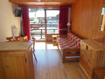 Location au ski Appartement 2 pièces coin montagne 5 personnes (004) - Résidence le Centre - Champagny-en-Vanoise - Séjour