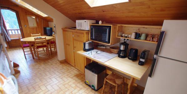 Location au ski Appartement 3 pièces mezzanines 6 personnes (CCET019) - Résidence le Centre - Champagny-en-Vanoise - Salle à manger