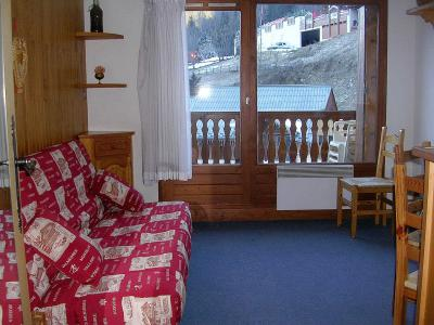 Location au ski Studio cabine 4 personnes (016) - Résidence le Centre - Champagny-en-Vanoise - Séjour