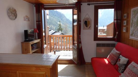 Location au ski Studio coin montagne 4 personnes (028) - Résidence le Centre - Champagny-en-Vanoise - Séjour
