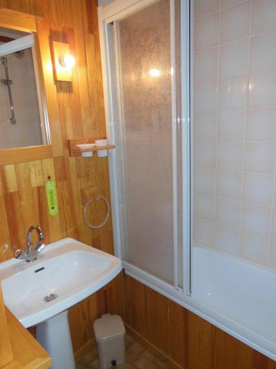 Location au ski Studio coin montagne 4 personnes (16B) - Résidence le Centre - Champagny-en-Vanoise - Baignoire