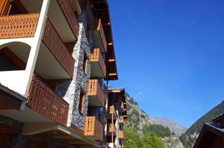 Location au ski Résidence le Chardonnet - Champagny-en-Vanoise - Extérieur hiver