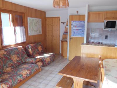 Location au ski Studio coin montagne 4 personnes (018CL) - Résidence le Chardonnet - Champagny-en-Vanoise - Séjour