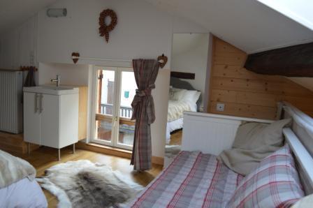 Location au ski Appartement 3 pièces mezzanine 6 personnes - Résidence le Dahu - Champagny-en-Vanoise - Appartement
