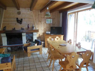 Location au ski Chalet 4 pièces 8 personnes (A012P) - Résidence le Hameau des Rochers - Champagny-en-Vanoise - Cheminée