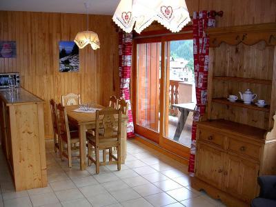 Location au ski Appartement 4 pièces 8 personnes (01BCL) - Résidence le Roselin - Champagny-en-Vanoise - Table