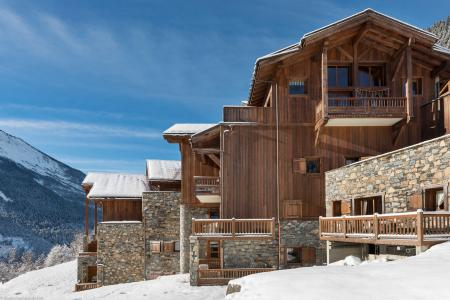 Rent in ski resort Résidence les Alpages de Champagny - Champagny-en-Vanoise - Winter outside