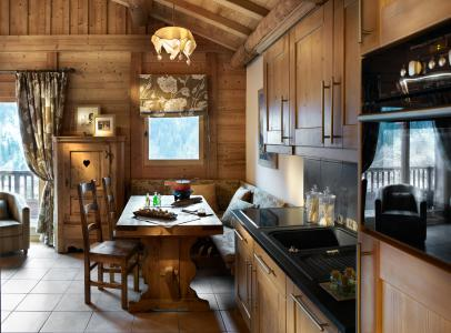 Rent in ski resort Résidence les Alpages de Champagny - Champagny-en-Vanoise - Kitchen