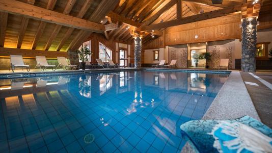 Location au ski Résidence les Alpages de Champagny - Champagny-en-Vanoise - Piscine