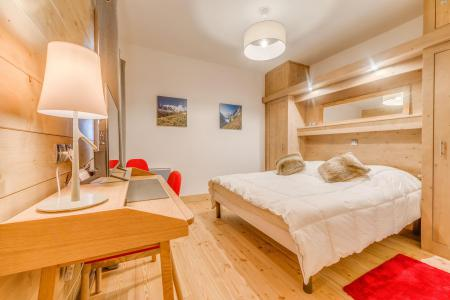 Rent in ski resort 3 room apartment 6 people (A19) - Résidence les Balcons Etoilés - Champagny-en-Vanoise - Double bed