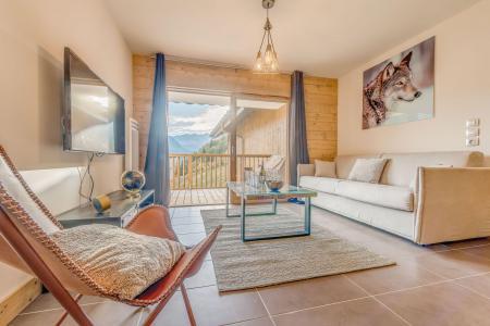 Location au ski Appartement 2 pièces 4 personnes (B11) - Résidence les Balcons Etoilés - Champagny-en-Vanoise - Canapé