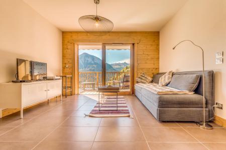 Location au ski Appartement 2 pièces 4 personnes (B17) - Résidence les Balcons Etoilés - Champagny-en-Vanoise - Séjour