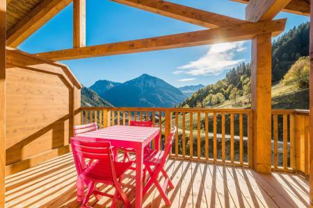 Location au ski Appartement 2 pièces mezzanine 6 personnes (B15) - Résidence les Balcons Etoilés - Champagny-en-Vanoise - Balcon