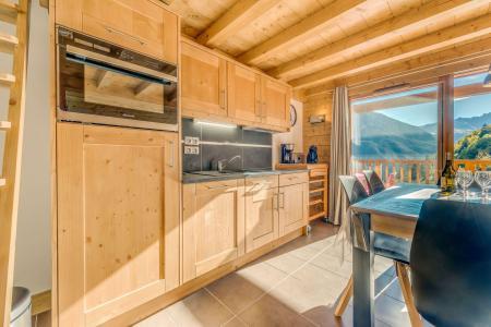 Location au ski Appartement 2 pièces mezzanine 6 personnes (B15) - Résidence les Balcons Etoilés - Champagny-en-Vanoise - Kitchenette