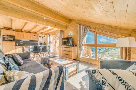 Location au ski Appartement 2 pièces mezzanine 6 personnes (B15) - Résidence les Balcons Etoilés - Champagny-en-Vanoise - Séjour