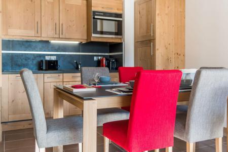 Location au ski Appartement 2 pièces mezzanine 6 personnes (B22) - Résidence les Balcons Etoilés - Champagny-en-Vanoise - Kitchenette