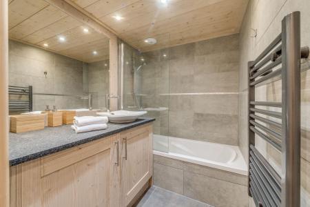 Location au ski Appartement 3 pièces 6 personnes (A07) - Résidence les Balcons Etoilés - Champagny-en-Vanoise - Baignoire