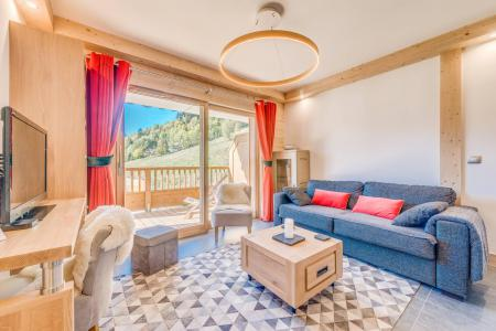 Location au ski Appartement 3 pièces 6 personnes (A07) - Résidence les Balcons Etoilés - Champagny-en-Vanoise - Séjour