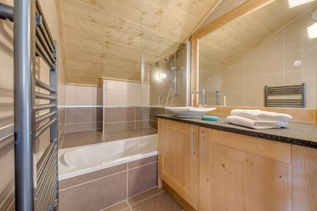 Location au ski Appartement 3 pièces 6 personnes (A12) - Résidence les Balcons Etoilés - Champagny-en-Vanoise - Baignoire