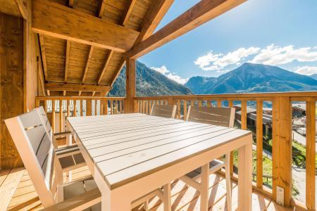 Location au ski Appartement 3 pièces 6 personnes (A12) - Résidence les Balcons Etoilés - Champagny-en-Vanoise - Balcon