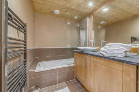 Location au ski Appartement 3 pièces 6 personnes (A18) - Résidence les Balcons Etoilés - Champagny-en-Vanoise - Baignoire