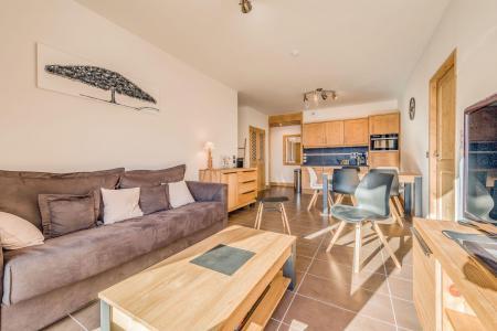 Location au ski Appartement 3 pièces 6 personnes (A18) - Résidence les Balcons Etoilés - Champagny-en-Vanoise - Canapé
