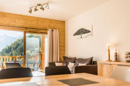 Location au ski Appartement 3 pièces 6 personnes (A18) - Résidence les Balcons Etoilés - Champagny-en-Vanoise - Table