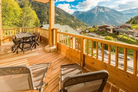 Location au ski Appartement 3 pièces 6 personnes (A18) - Résidence les Balcons Etoilés - Champagny-en-Vanoise - Terrasse