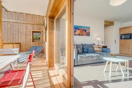 Location au ski Appartement 3 pièces 6 personnes (A19) - Résidence les Balcons Etoilés - Champagny-en-Vanoise - Terrasse