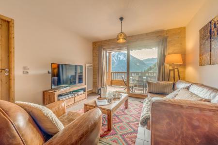 Location au ski Appartement 3 pièces 6 personnes (B08) - Résidence les Balcons Etoilés - Champagny-en-Vanoise - Canapé