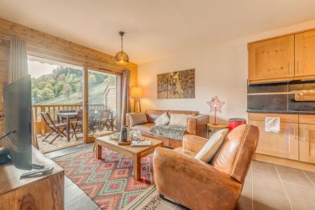 Location au ski Appartement 3 pièces 6 personnes (B08) - Résidence les Balcons Etoilés - Champagny-en-Vanoise - Séjour