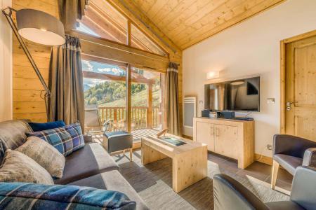 Location au ski Appartement 4 pièces 8 personnes (A13) - Résidence les Balcons Etoilés - Champagny-en-Vanoise - Séjour