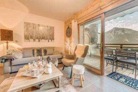 Location au ski Appartement 4 pièces 8 personnes (B02) - Résidence les Balcons Etoilés - Champagny-en-Vanoise - Séjour